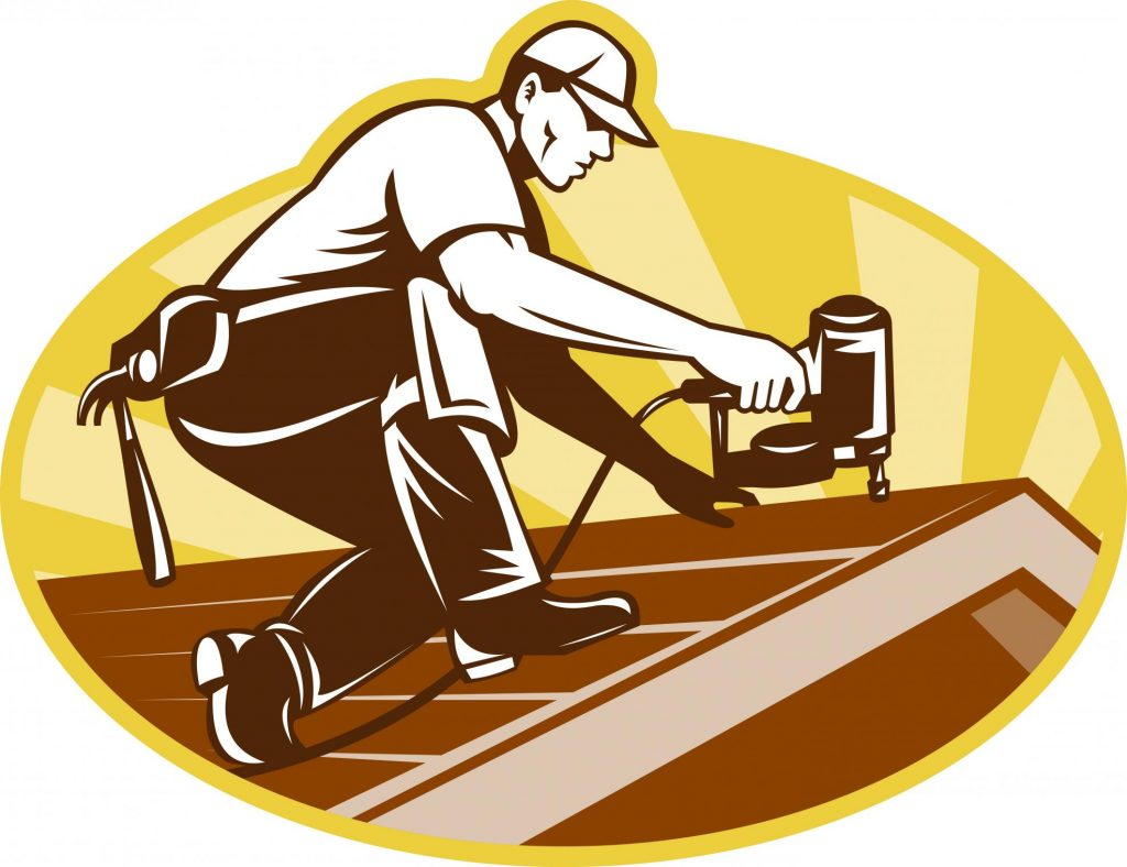 roofer roofing services logo