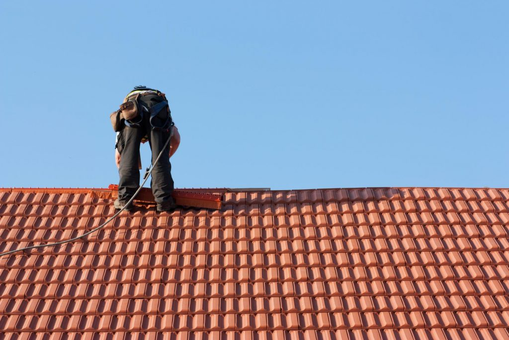 this image shows tracy roofing pros tile roofs