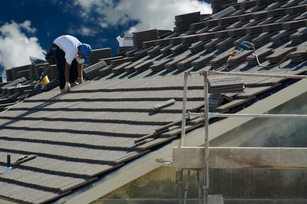 this picture shows dublin roofing from the dublin roofing pros