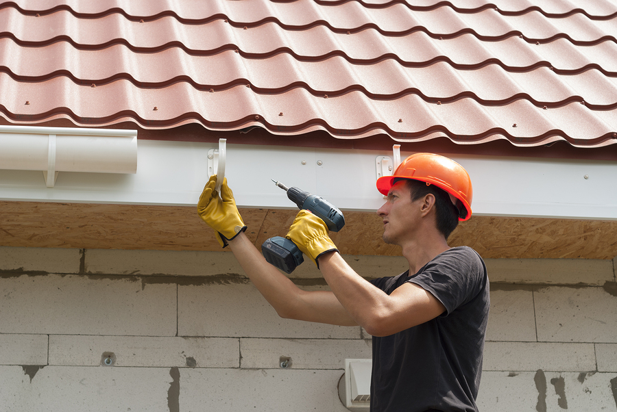 this image shows byron roofing pros tracy