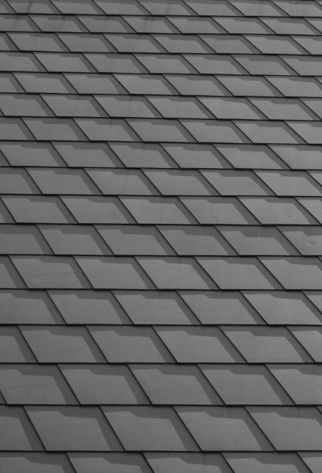 An image of finished roofing work in Tracy.