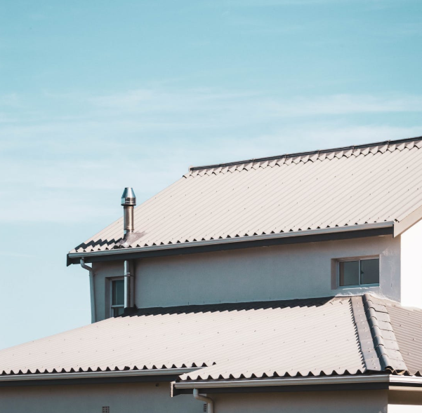 This image shows membrane roof in Tracy, California.