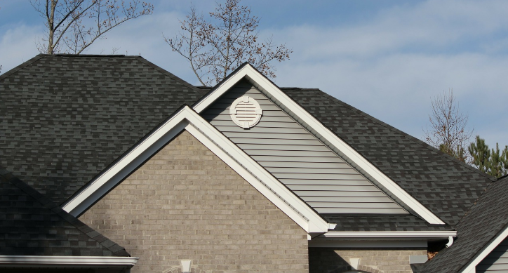 A picture of metal shingles in Tracy.